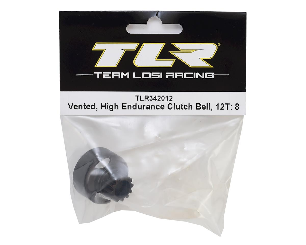 Team Losi Racing 8IGHT-X High Endurance Vented Clutch Bell (12T)
