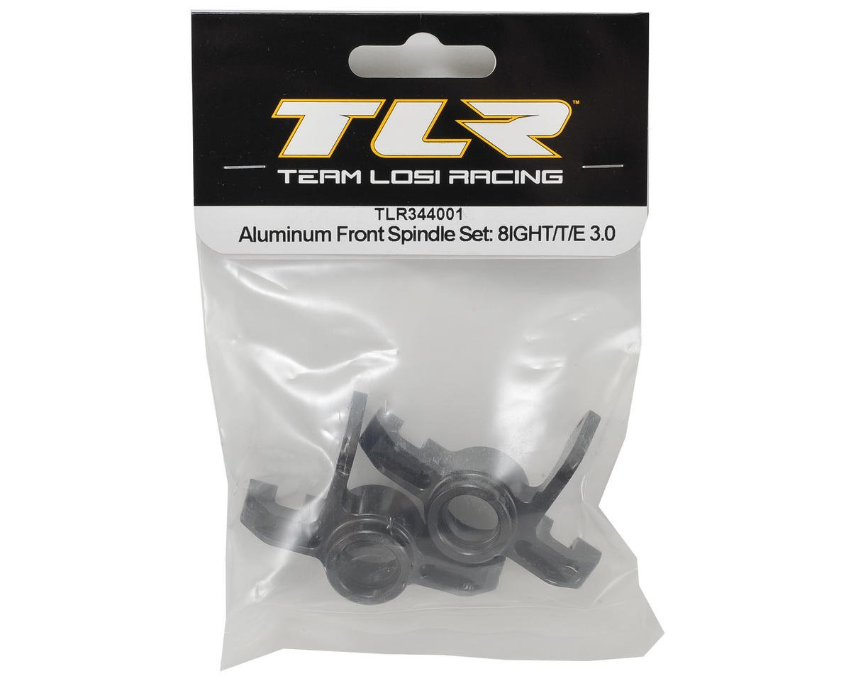 Aluminum Front Spindle Set by Team Losi Racing