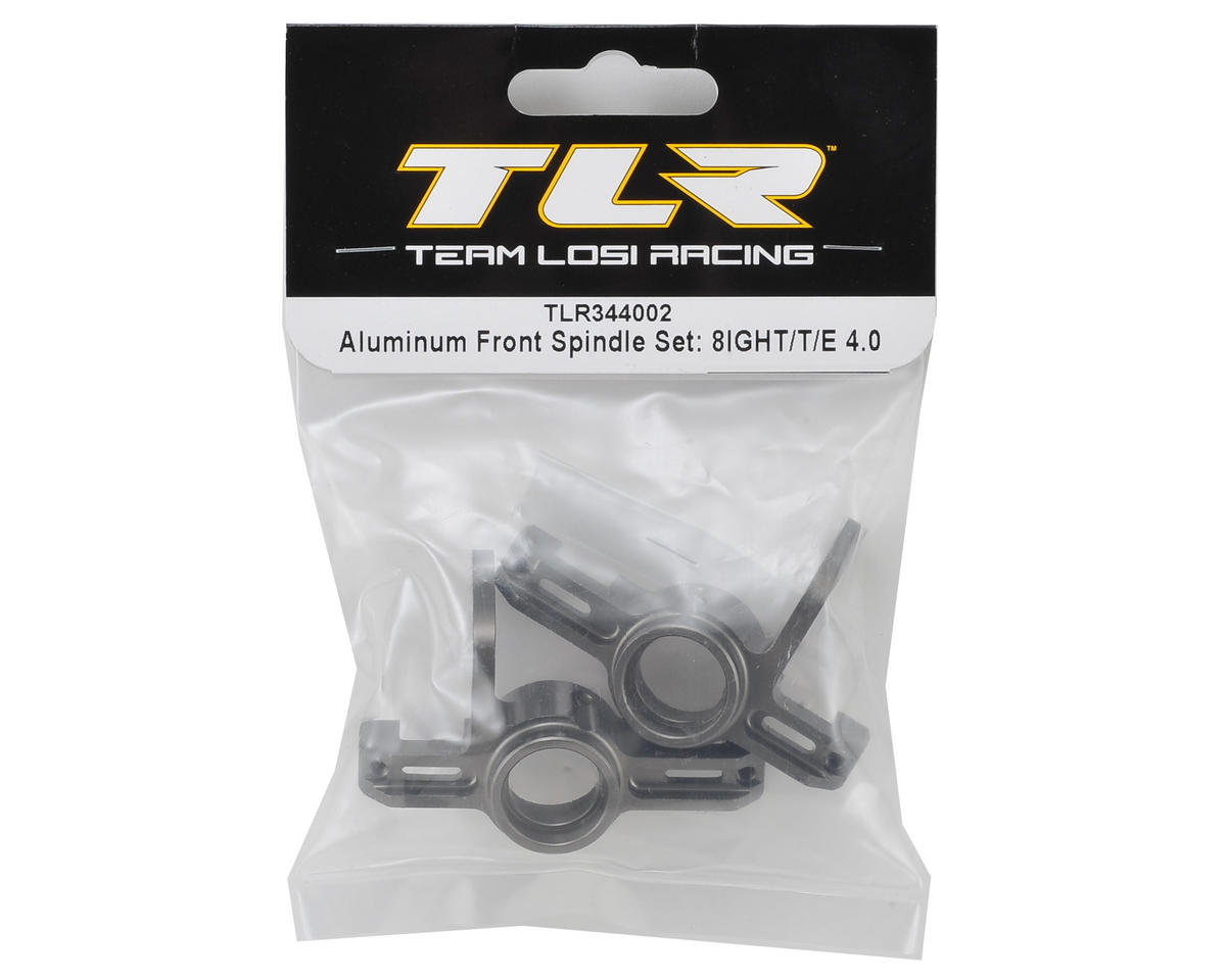 Team Losi Racing 8ight Aluminum Front Spindle Set