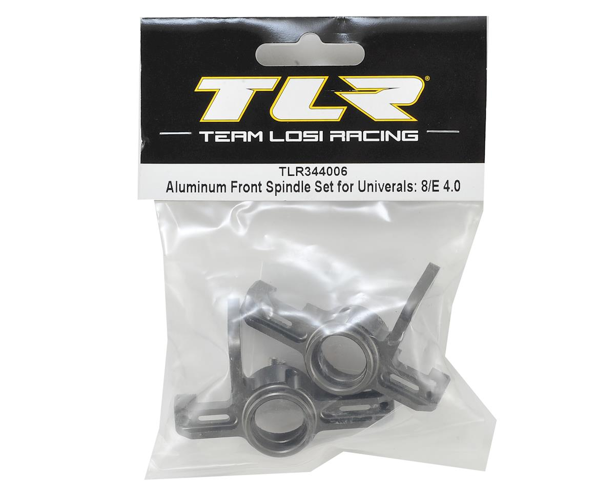 Team Losi Racing 8IGHT 4.0 Aluminum Front Universal Spindle Set