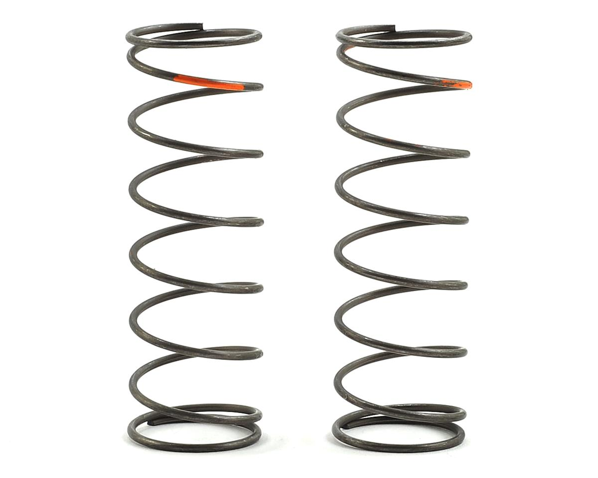 Team Losi Racing 16mm EVO Front Shock Spring Set (Orange - 4.5 Rate) (2)