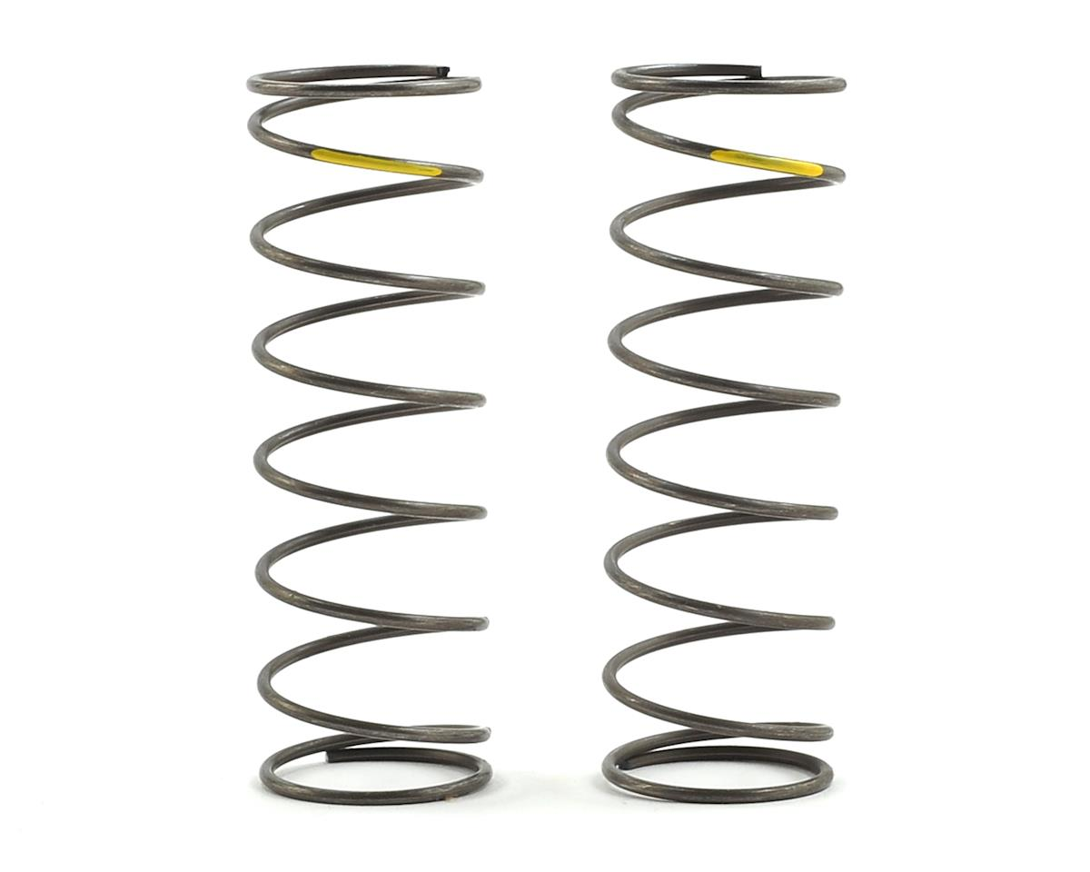 Team Losi Racing 16mm EVO Front Shock Spring Set (Yellow - 4.7 Rate) (2)