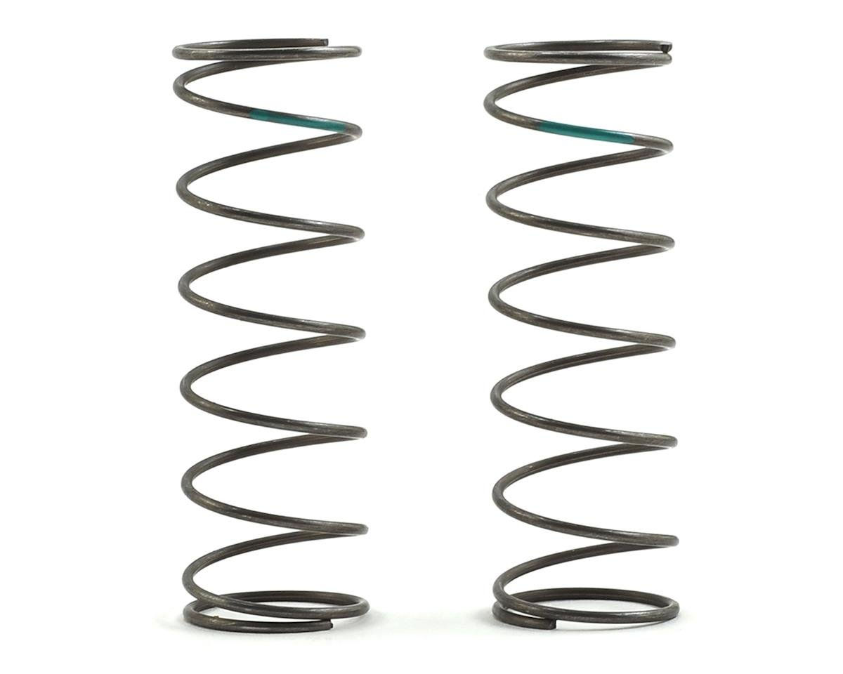 16mm EVO Front Shock Spring Set (Green - 4.9 Rate) (2) by Team Losi Racing