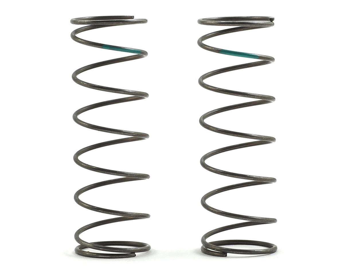 Team Losi Racing 16mm EVO Front Shock Spring Set (Green - 4.9 Rate) (2)