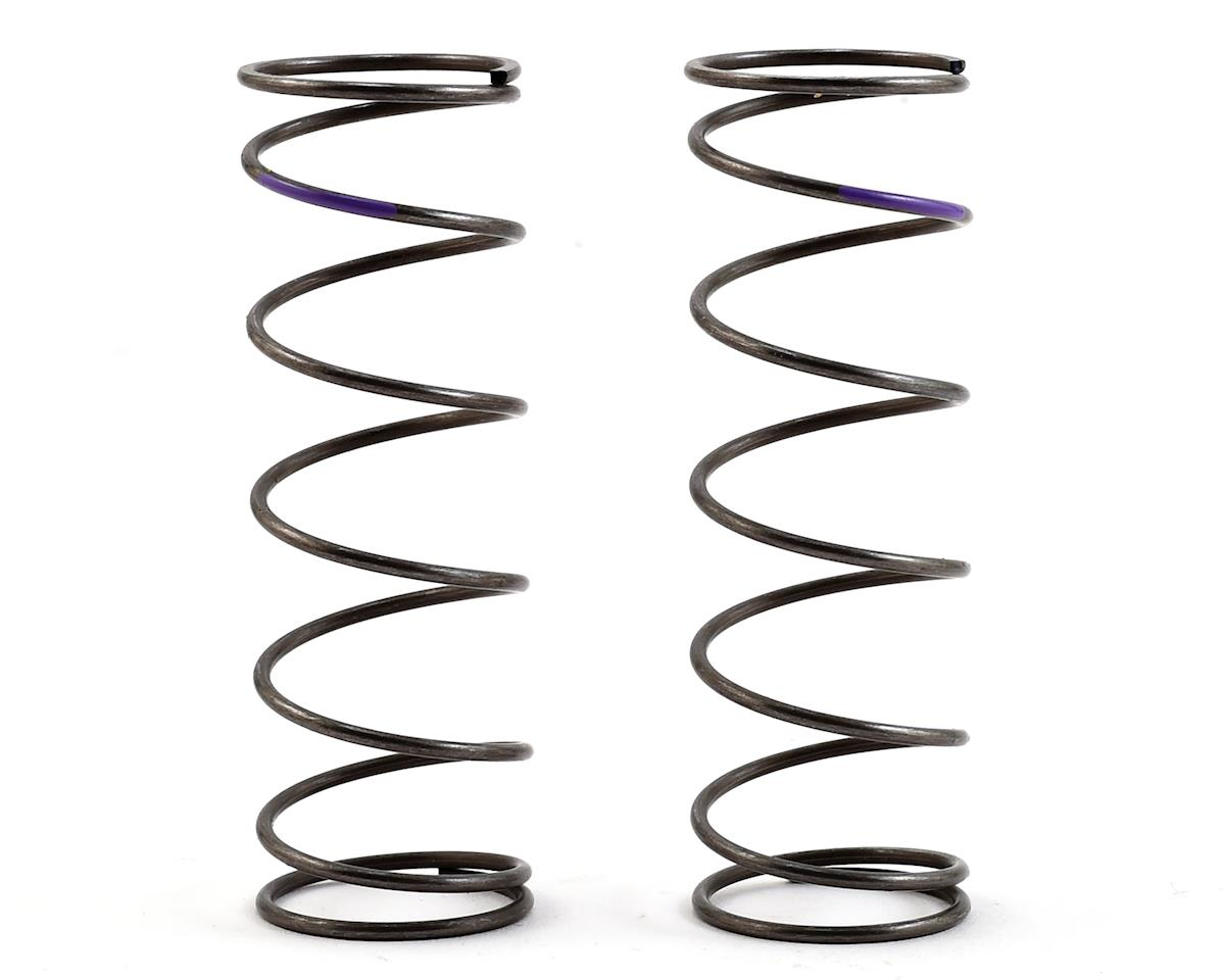 Team Losi Racing 16mm EVO Front Shock Spring Set (Violet - 5.3 Rate) (2)