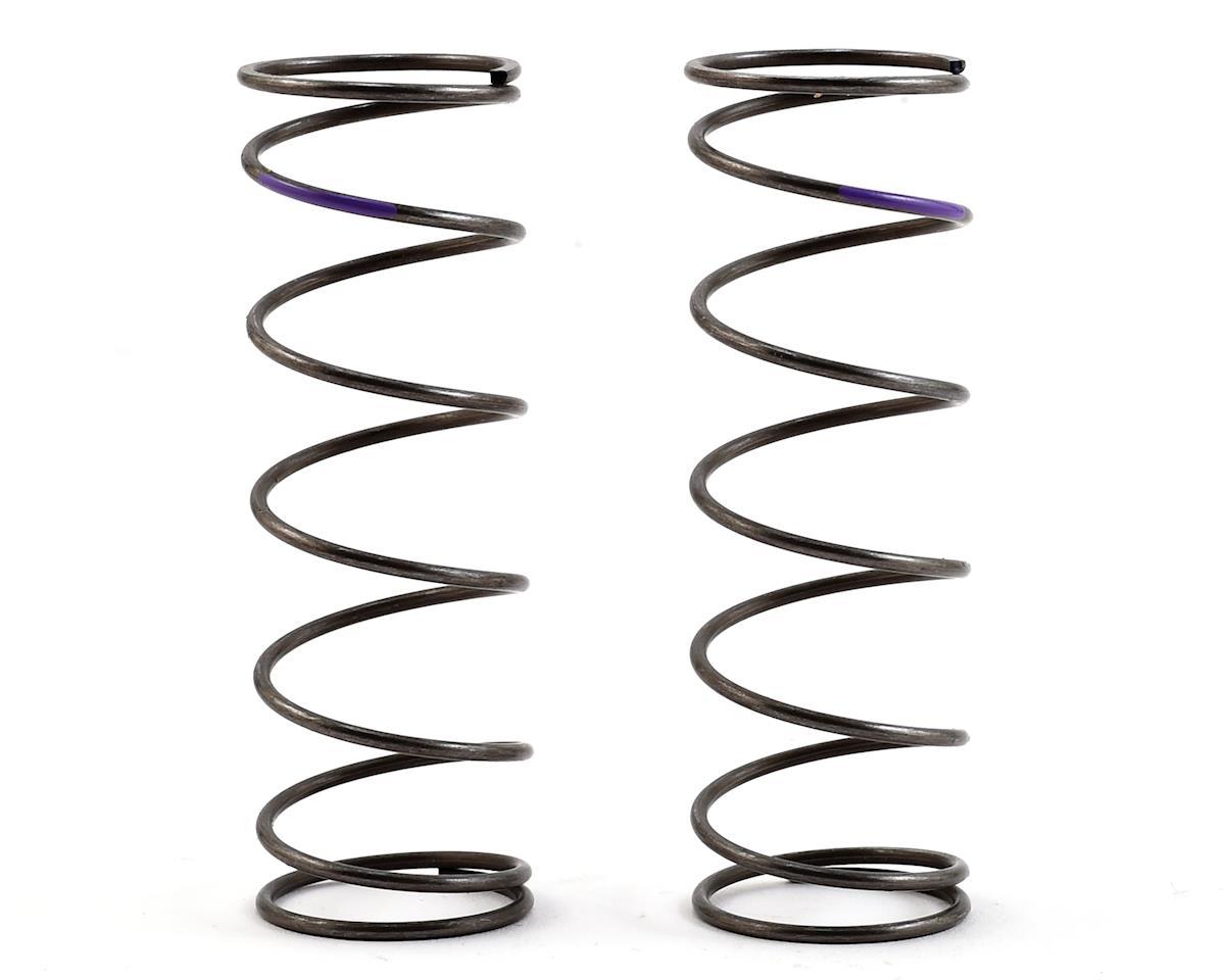 Team Losi Racing 16mm EVO Front Shock Spring Set (Violet - 5.3 Rate) (2)