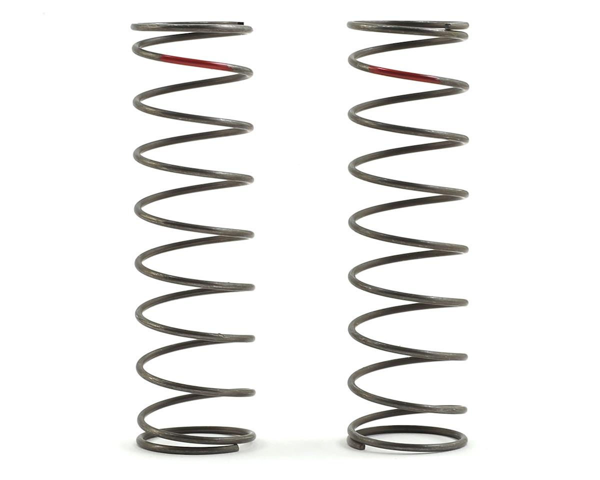 16mm EVO Rear Shock Spring Set (Red - 3.8 Rate) (2) by Team Losi Racing