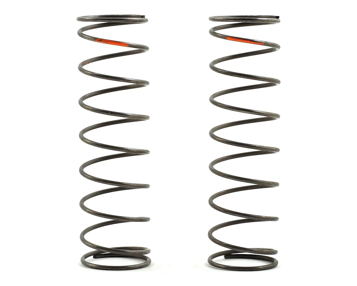 Team Losi Racing 16mm EVO Rear Shock Spring Set (Orange - 4.0 Rate) (2)