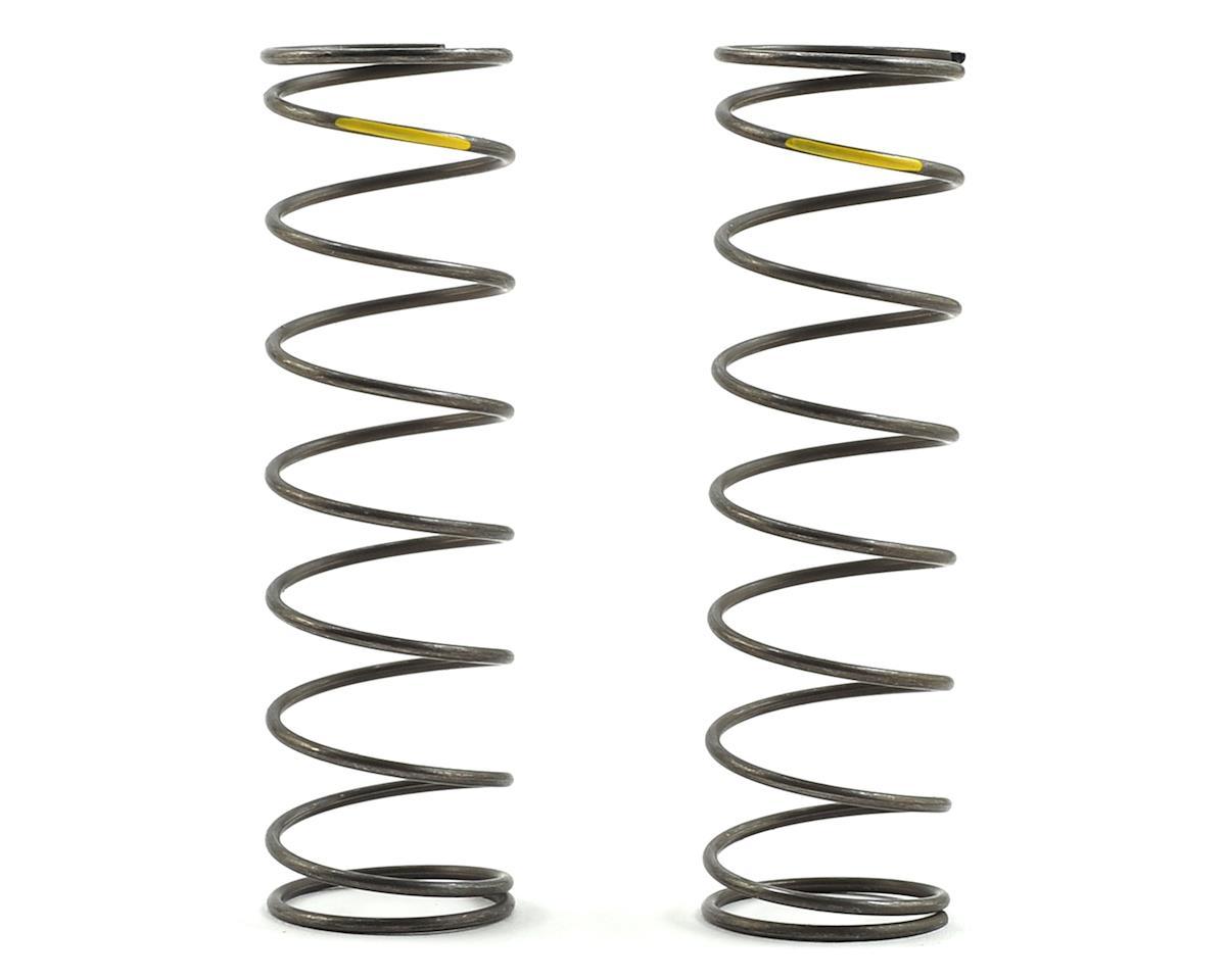 Team Losi Racing 16mm EVO Rear Shock Spring Set (Yellow - 4.2 Rate) (2)