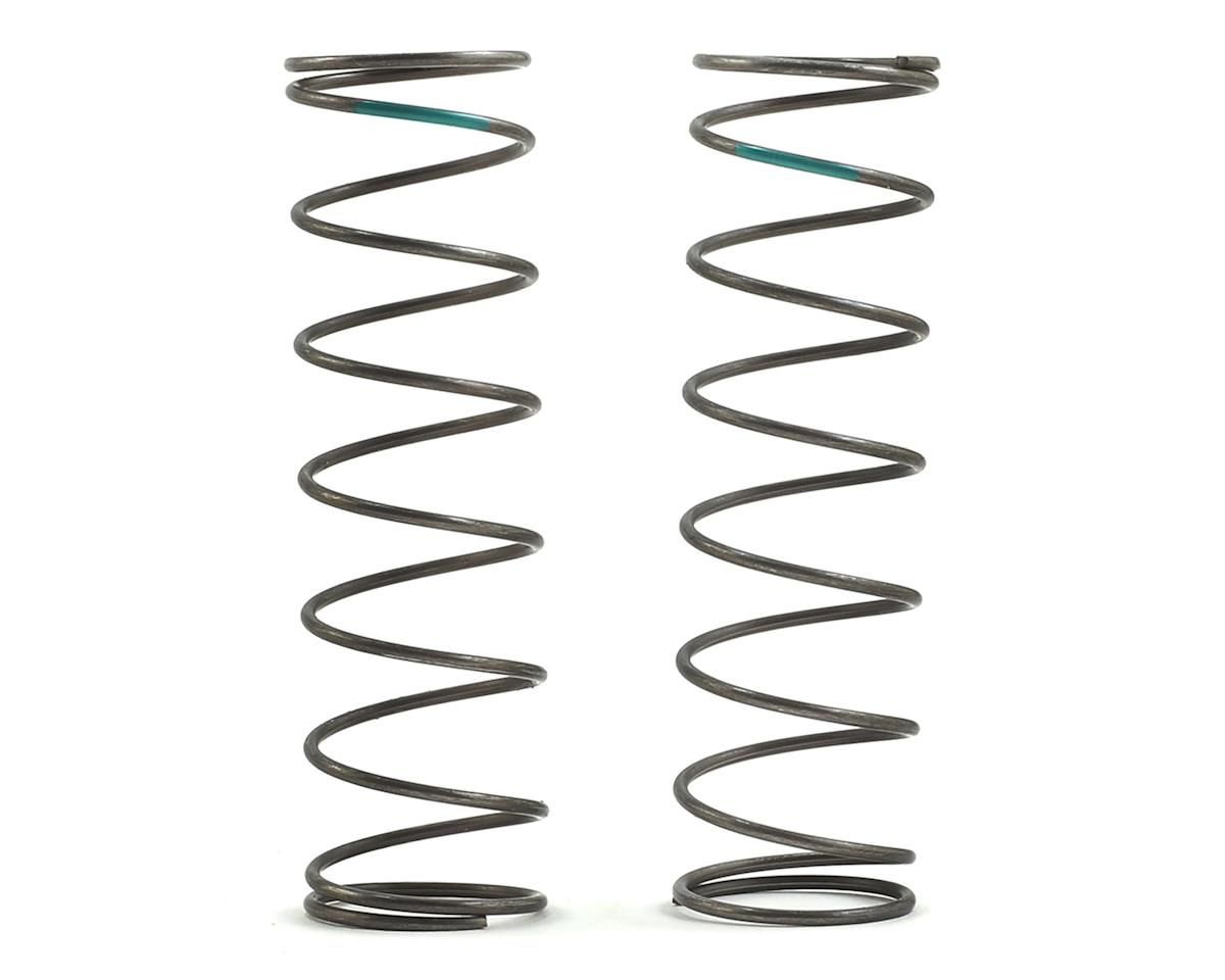 Team Losi Racing 16mm EVO Rear Shock Spring Set (Green - 4.4 Rate) (2)