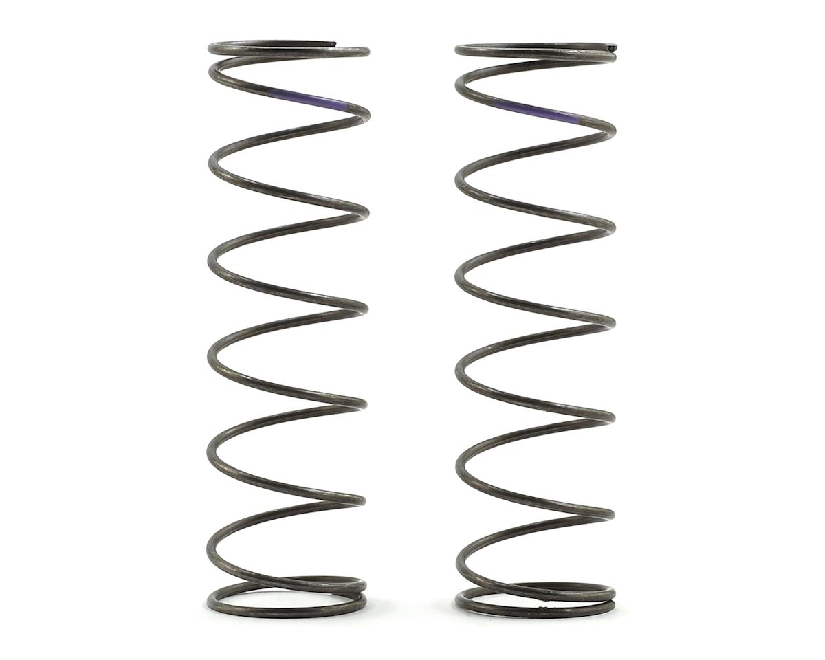 Team Losi Racing 16mm EVO Rear Shock Spring Set (Violet - 4.8 Rate) (2)
