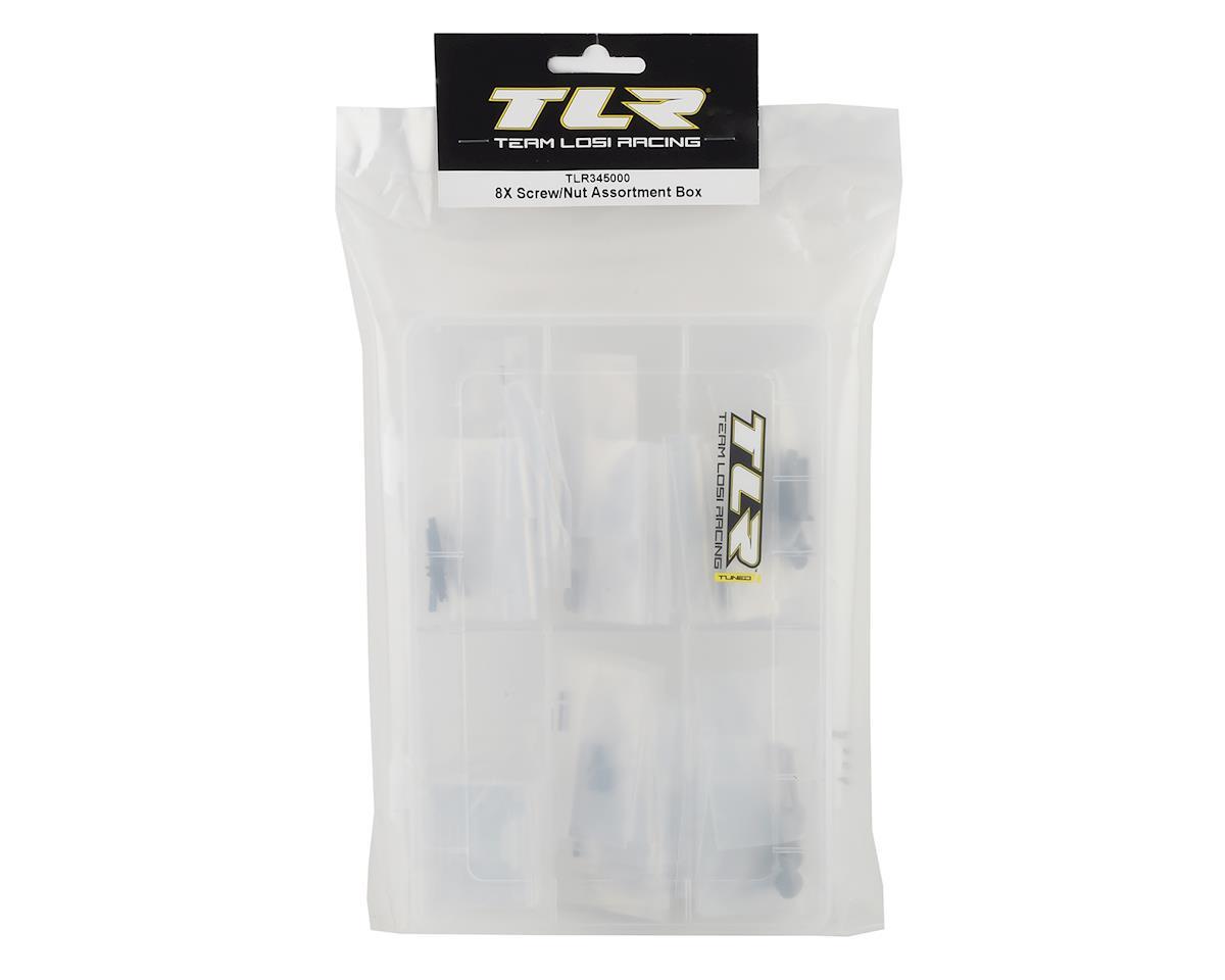 Team Losi Racing 8IGHT-XE Screw & Nut Assortment Box