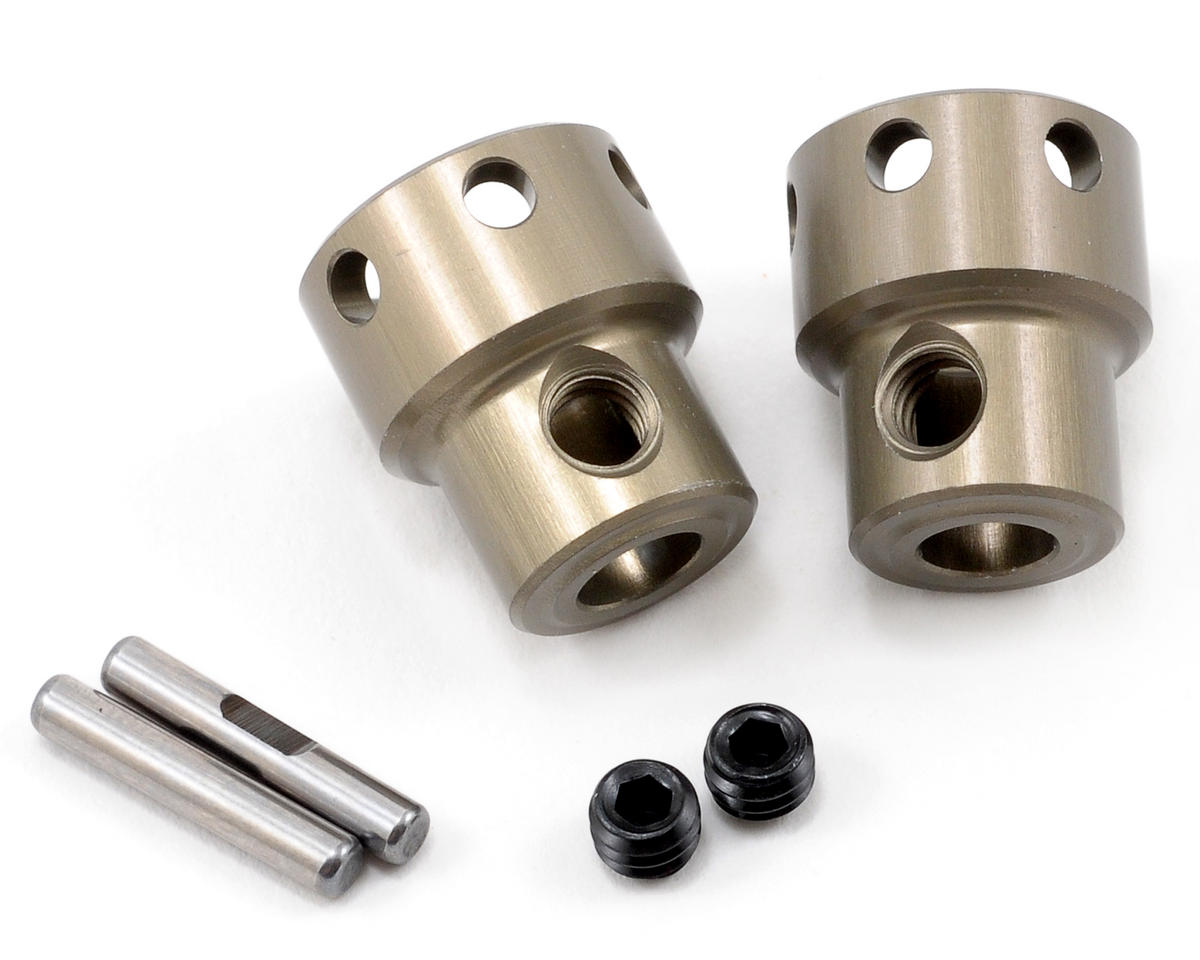 Team Losi L8ight Racing Aluminum Front/Rear Differential Pinion Coupler Set (2)