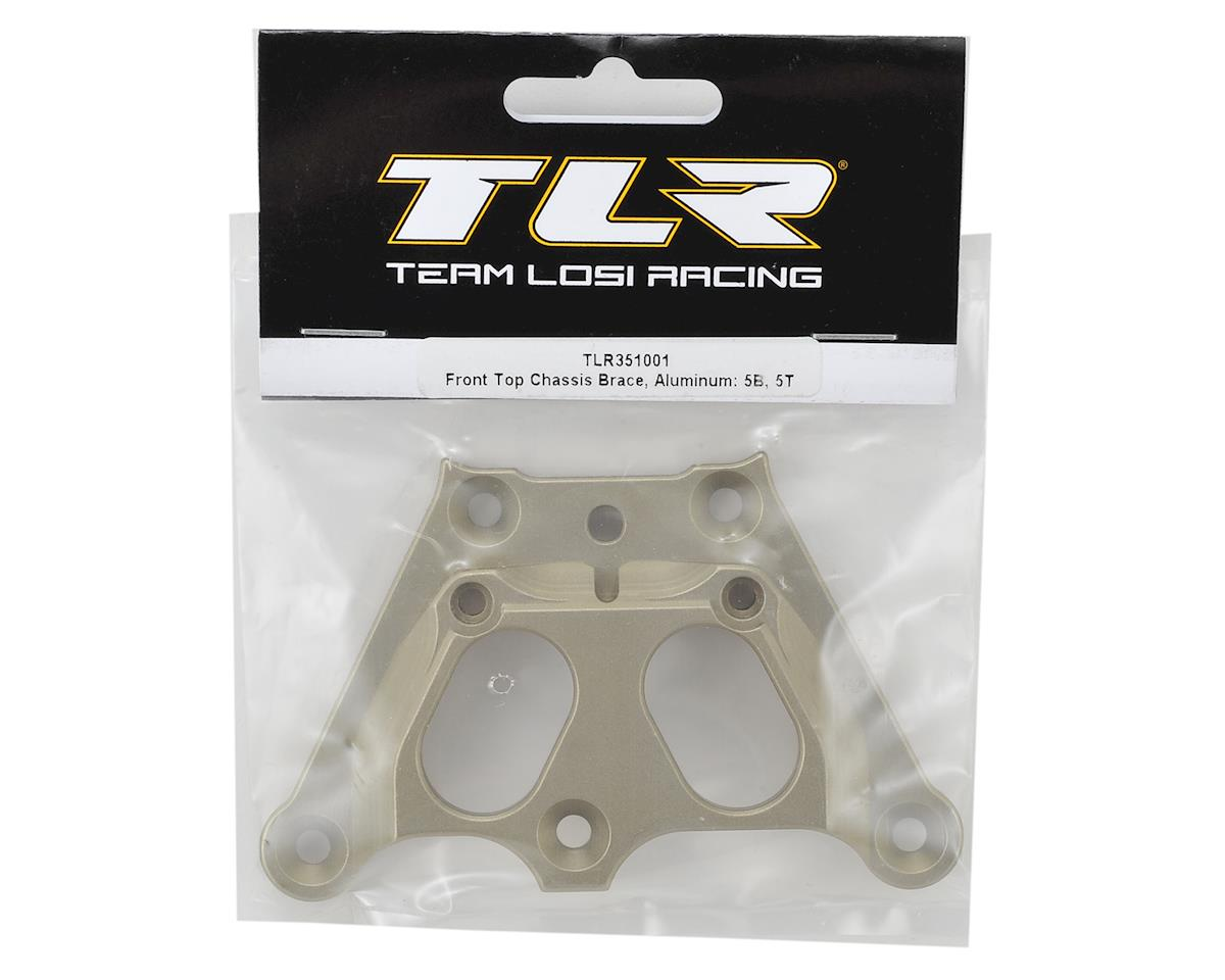 TLR Front Top Chassis Brace TLR351001 5T Aluminum: 5B