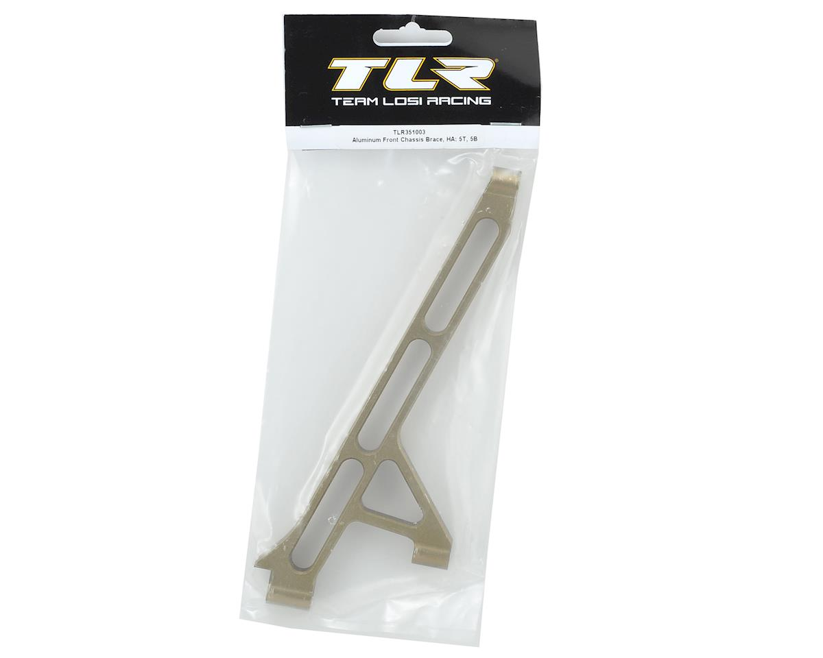 Team Losi Racing 5IVE-T Aluminum Front Chassis Brace