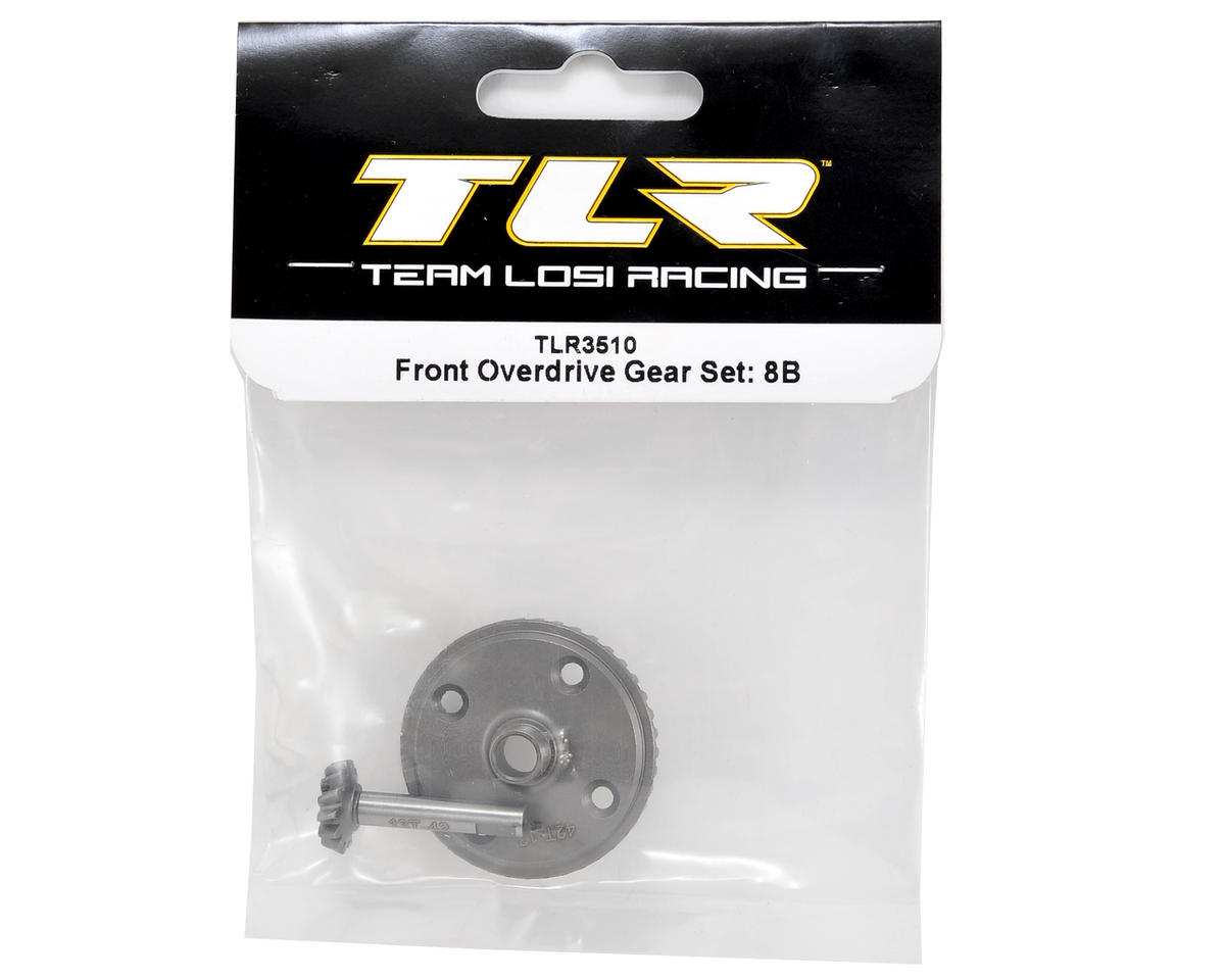 Front Overdrive Gear Set (8B) by Team Losi Racing