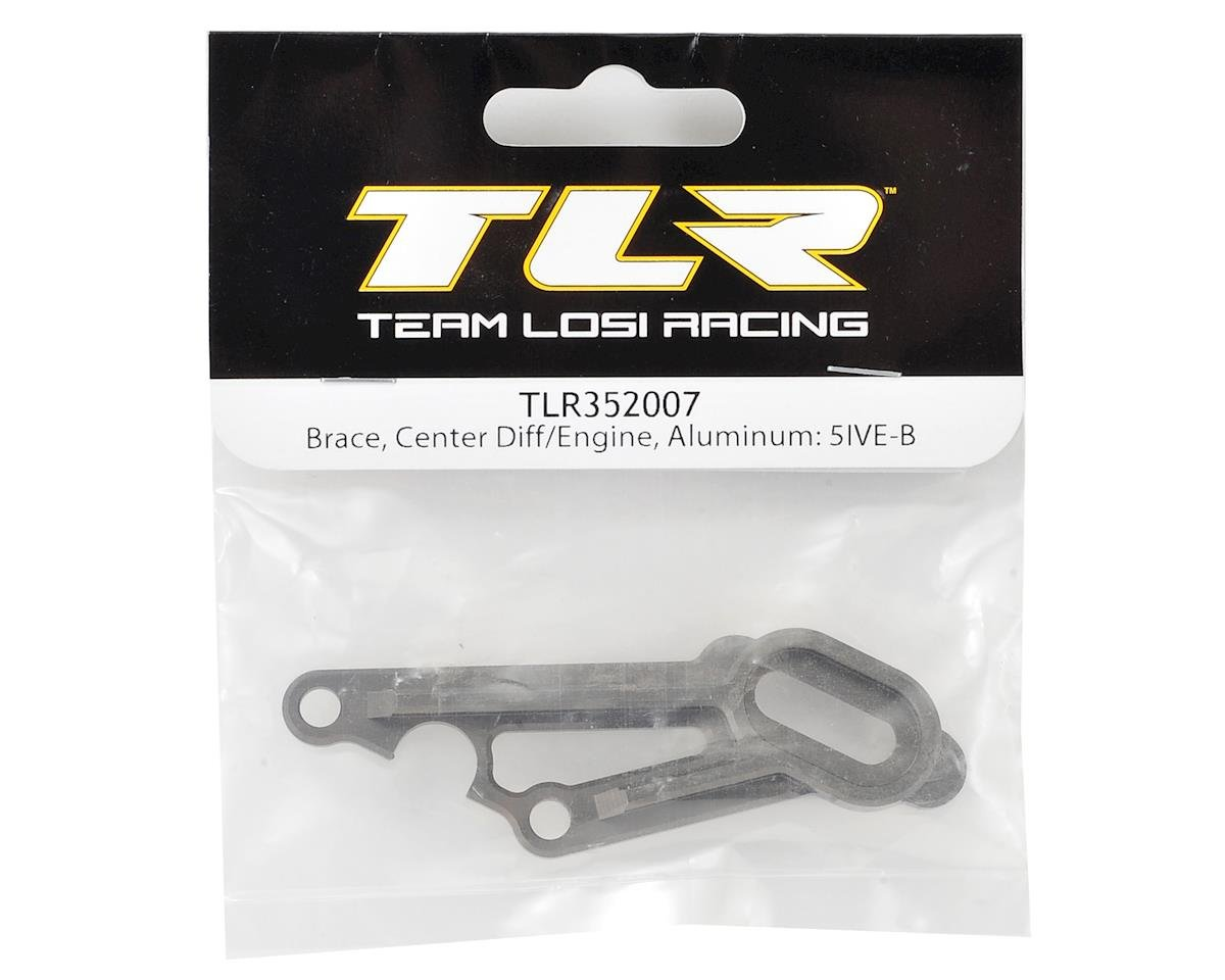 Team Losi Racing 5IVE-B Aluminum Center Differential/Engine Brace