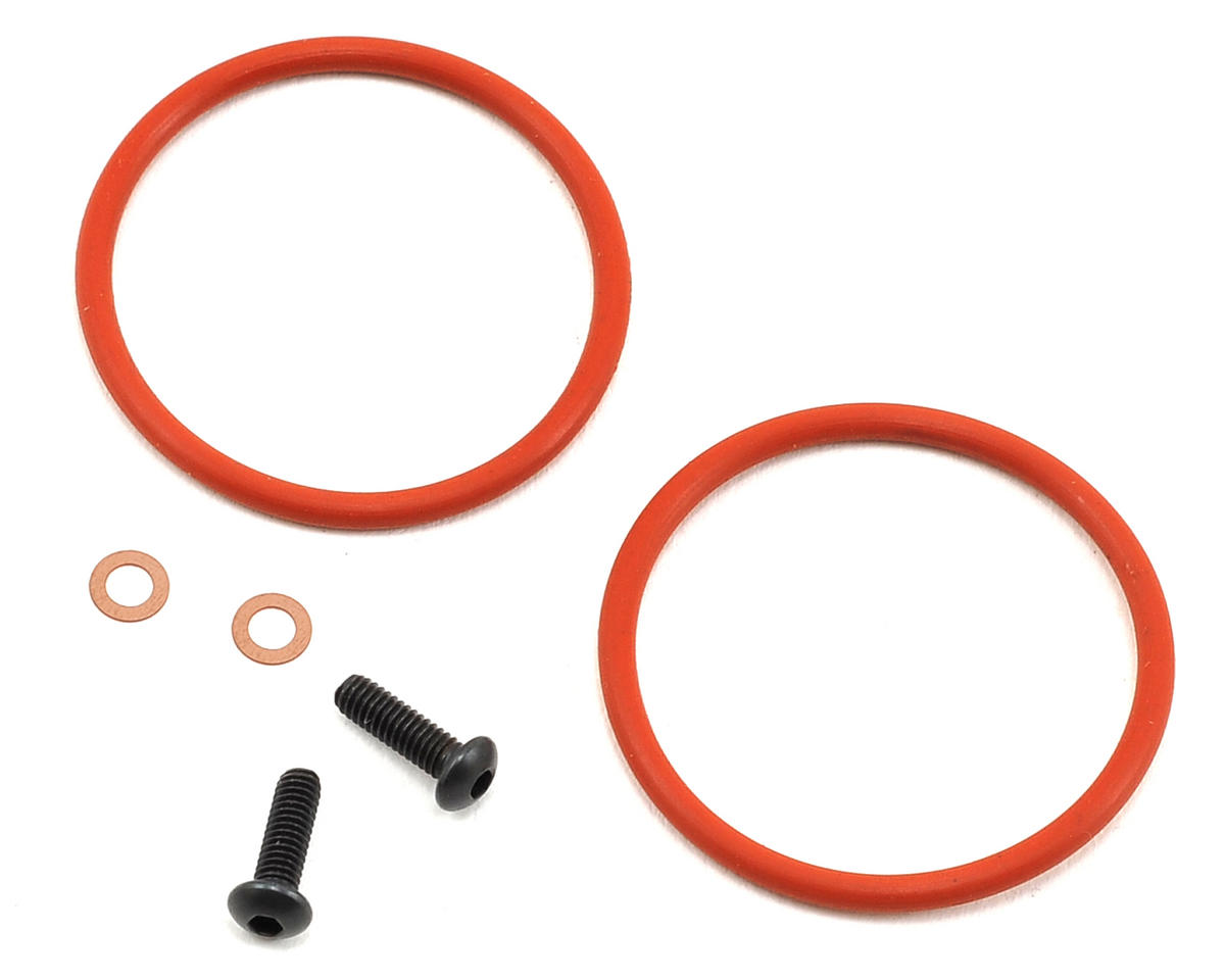 Team Losi Racing Bleeder Shock Cap Screw & Washer Set