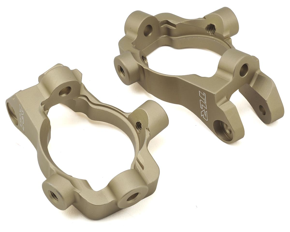 Team Losi 5IVE-B Racing 15° Aluminum Front Spindle Carrier Set (2)