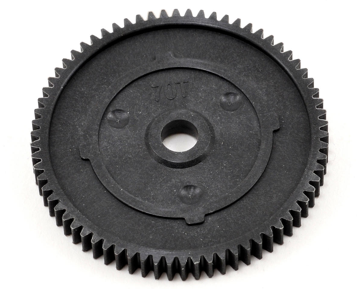 48P Spur Gear (70T) (Made with Kevlar) by Team Losi Racing