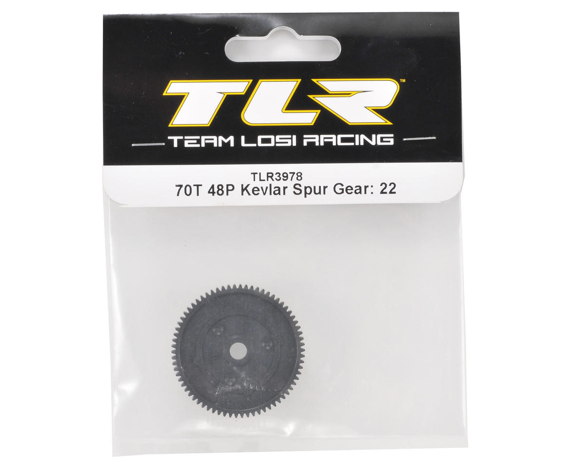 Team Losi Racing 48P Spur Gear (70T) (Made with Kevlar)