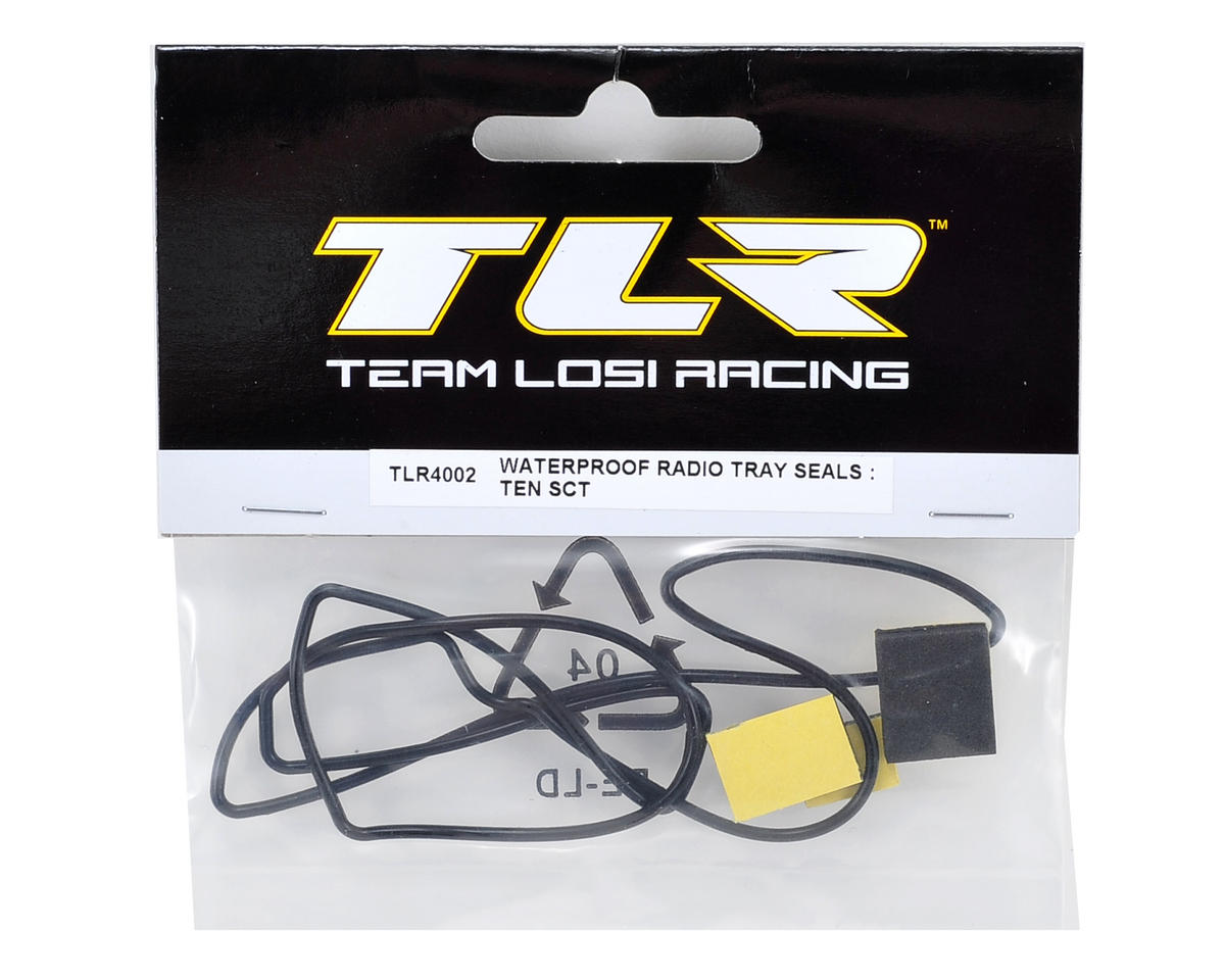 Team Losi Racing Waterproof Radio Tray Seal Set