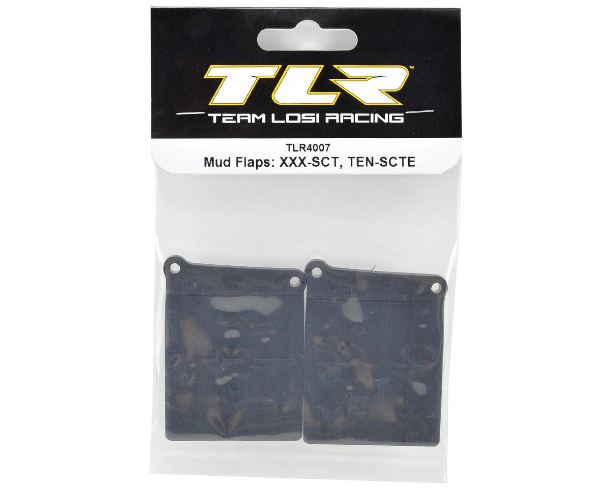 Team Losi Racing Mud Flaps (2)