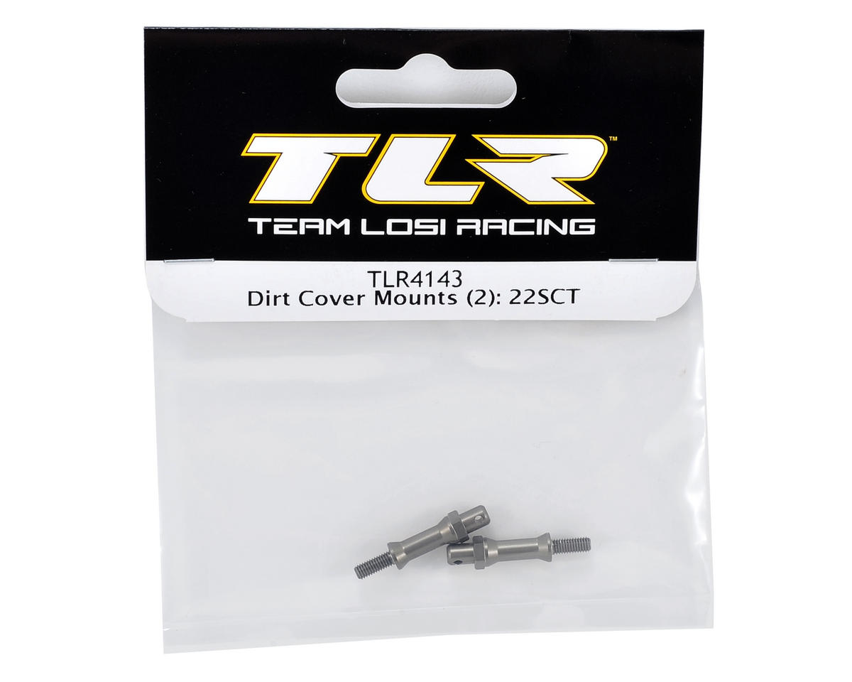 Team Losi Racing Dirt Cover Mount Set (2)