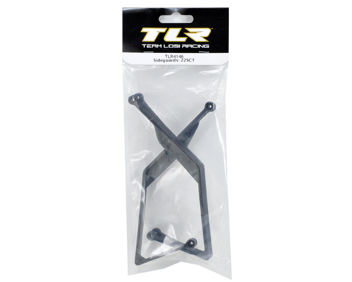 Chassis Side Guard Set (2) by Team Losi Racing