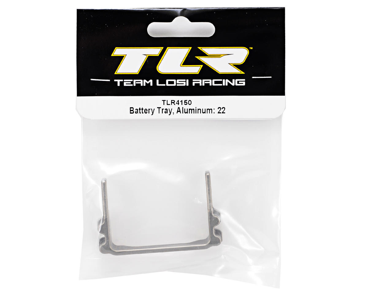 Team Losi Racing Aluminum Battery Tray (TLR 22)