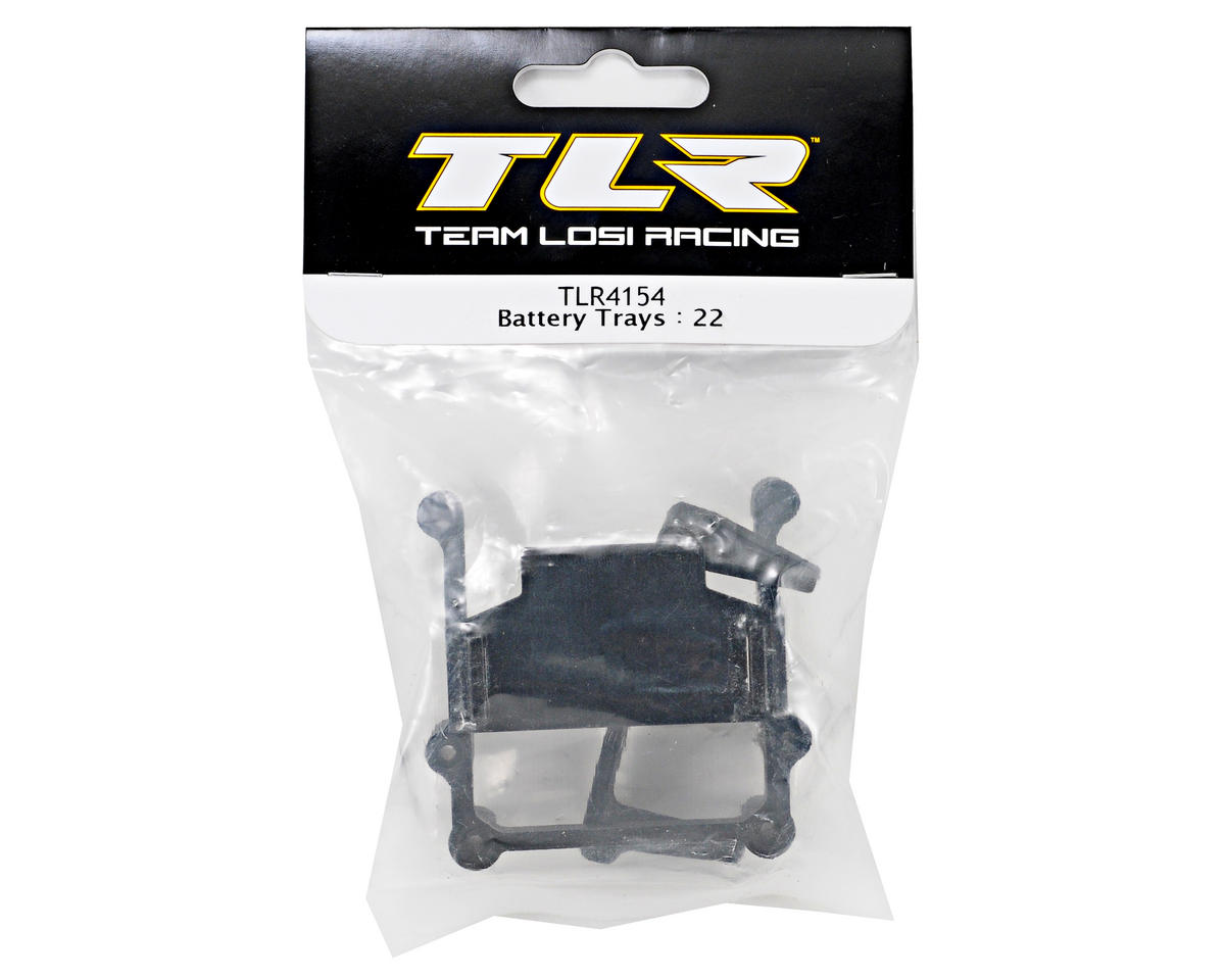 Team Losi Racing Battery Tray Set (TLR 22)