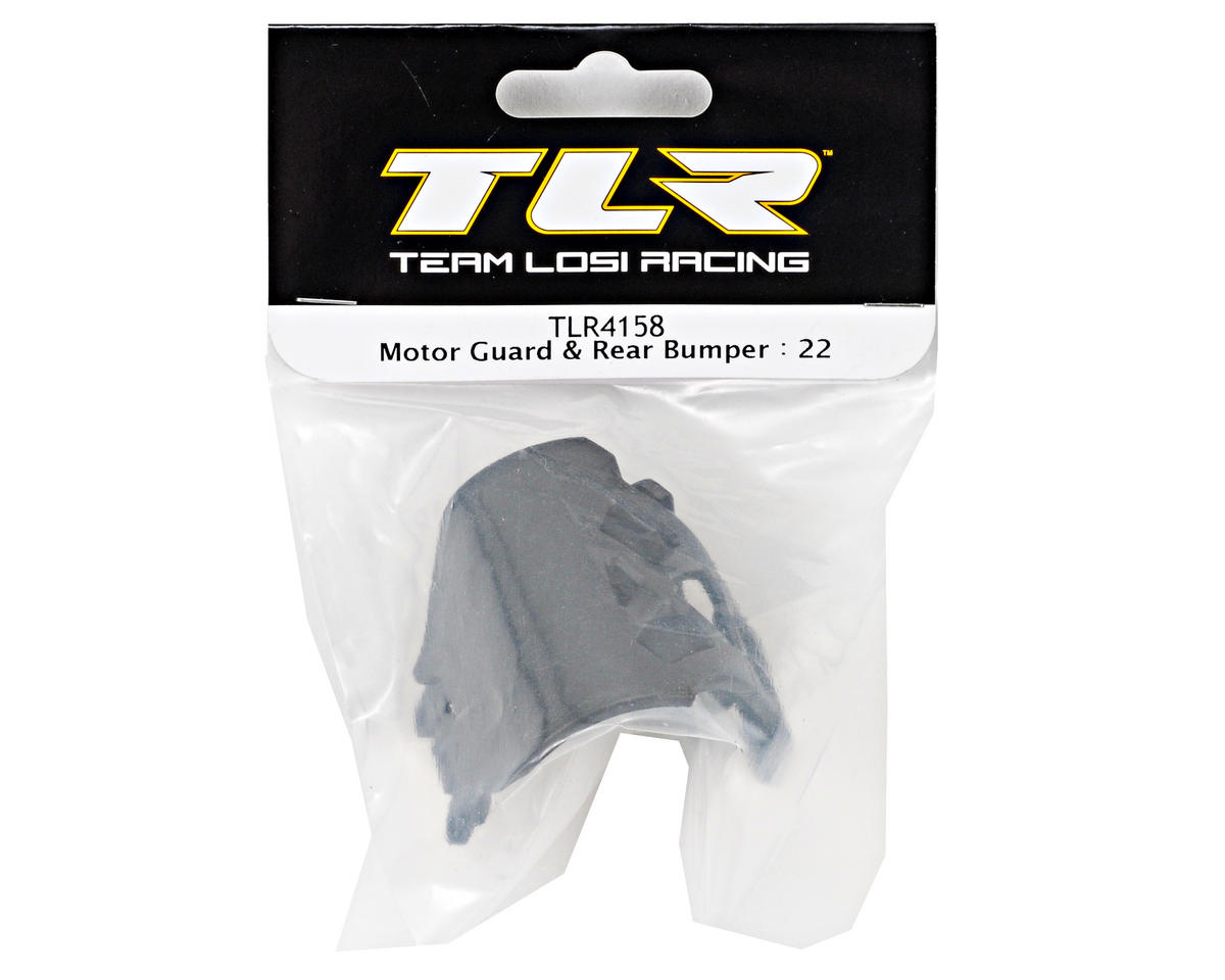 Team Losi Racing Motor Guard & Rear Bumper Set (TLR 22)