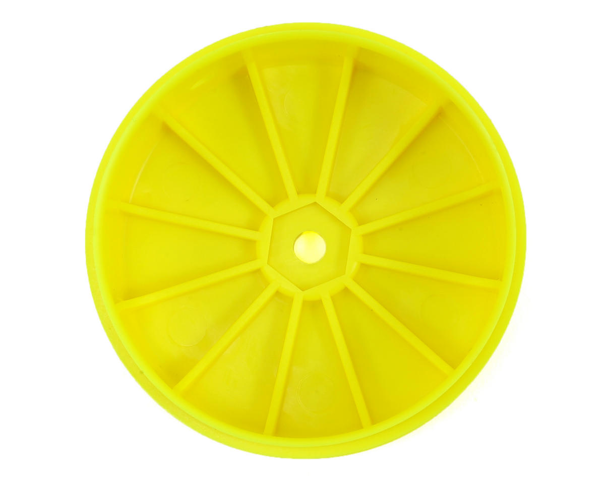 Team Losi Racing 61mm Front 1/10 Buggy Wheels (2) (22 3.0) (Yellow)