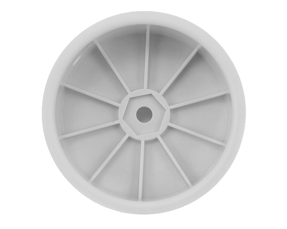 12mm Hex Stiffezel Front 2WD Buggy Wheels (White) (2) (22 4.0) by ...