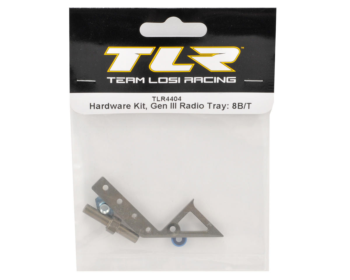"Team Losi Racing ""Gen III"" Radio Tray Hardware Kit"