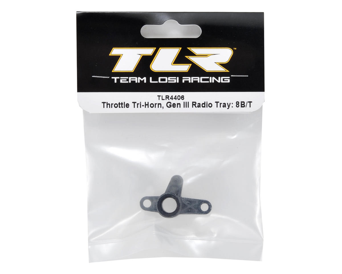 Team Losi Racing Tri-Horn (Gen III Radio Tray)
