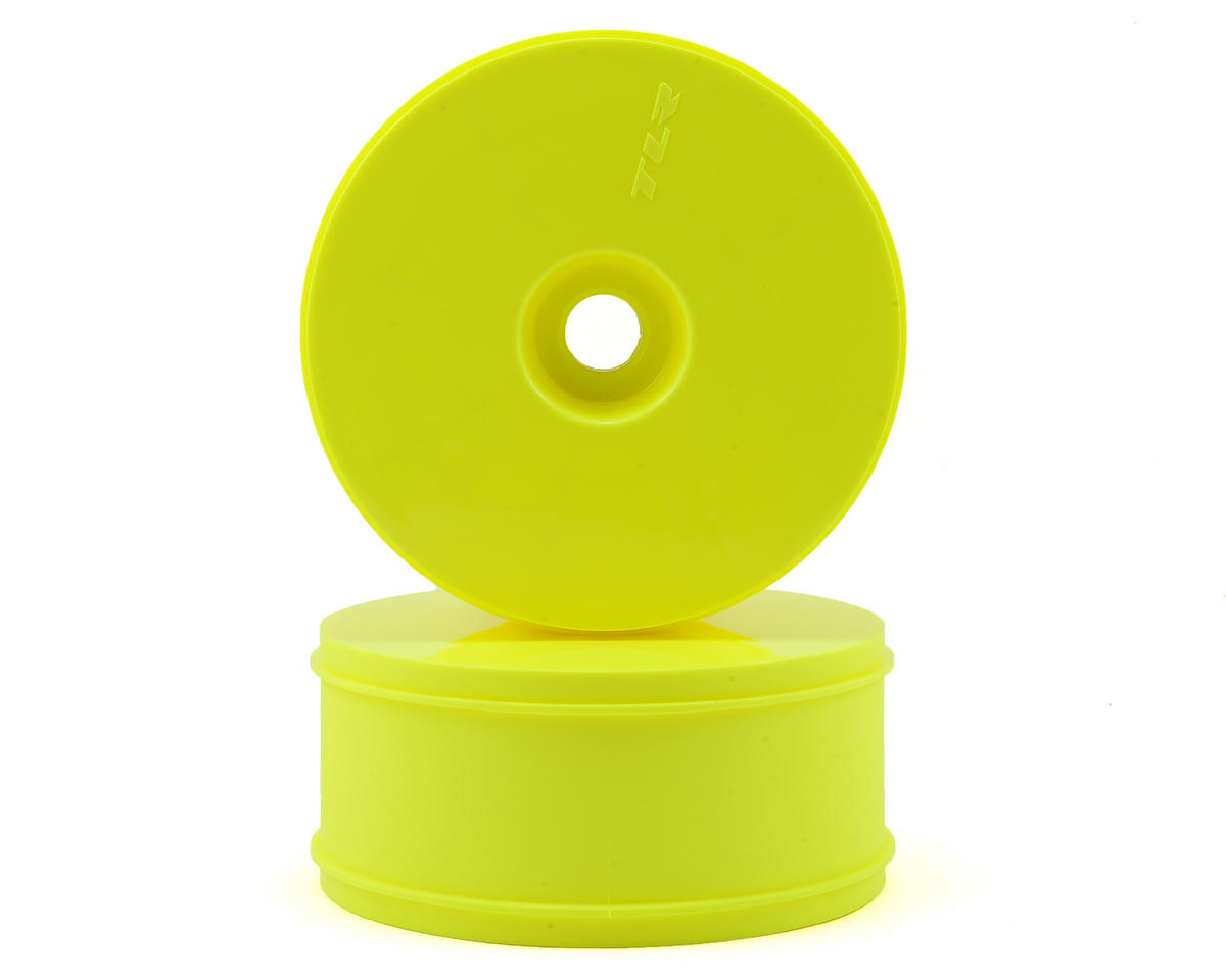 Team Losi Racing 5IVE-B 1/5 Dish Wheel (Yellow) (2)