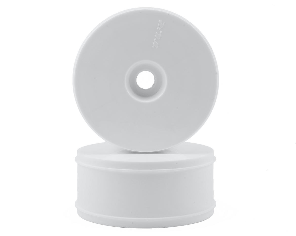 5IVE-B 1/5 Dish Wheel (White) (2) by Team Losi Racing