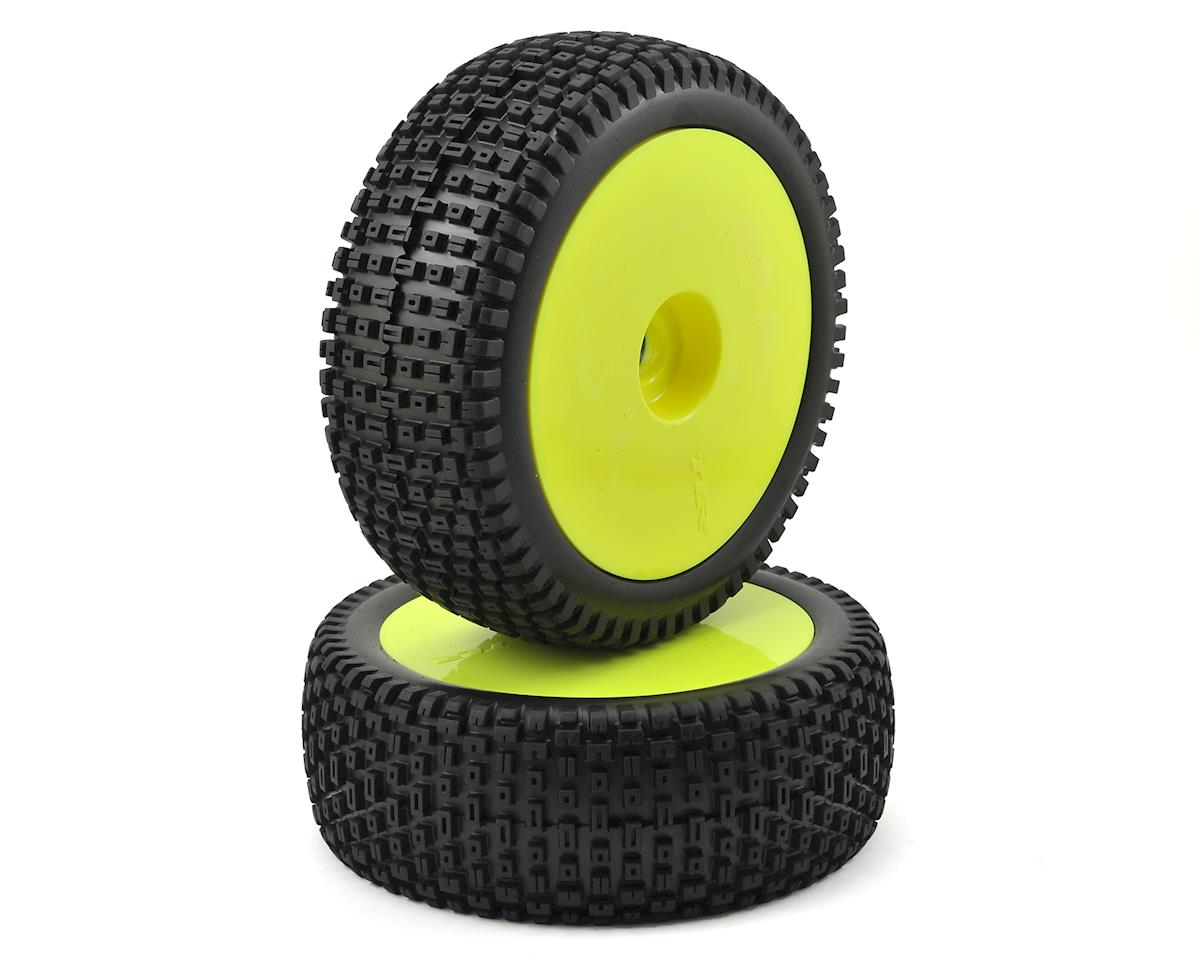 Team Losi 5IVE-B Racing 1/5 Pre-Mount Tires (Yellow) (2)
