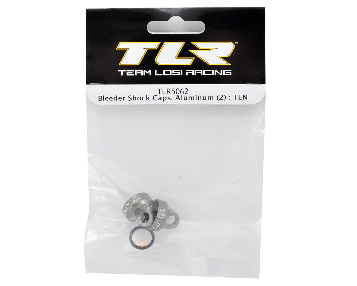 Bleeder Shock Cap Set (2) by Team Losi Racing