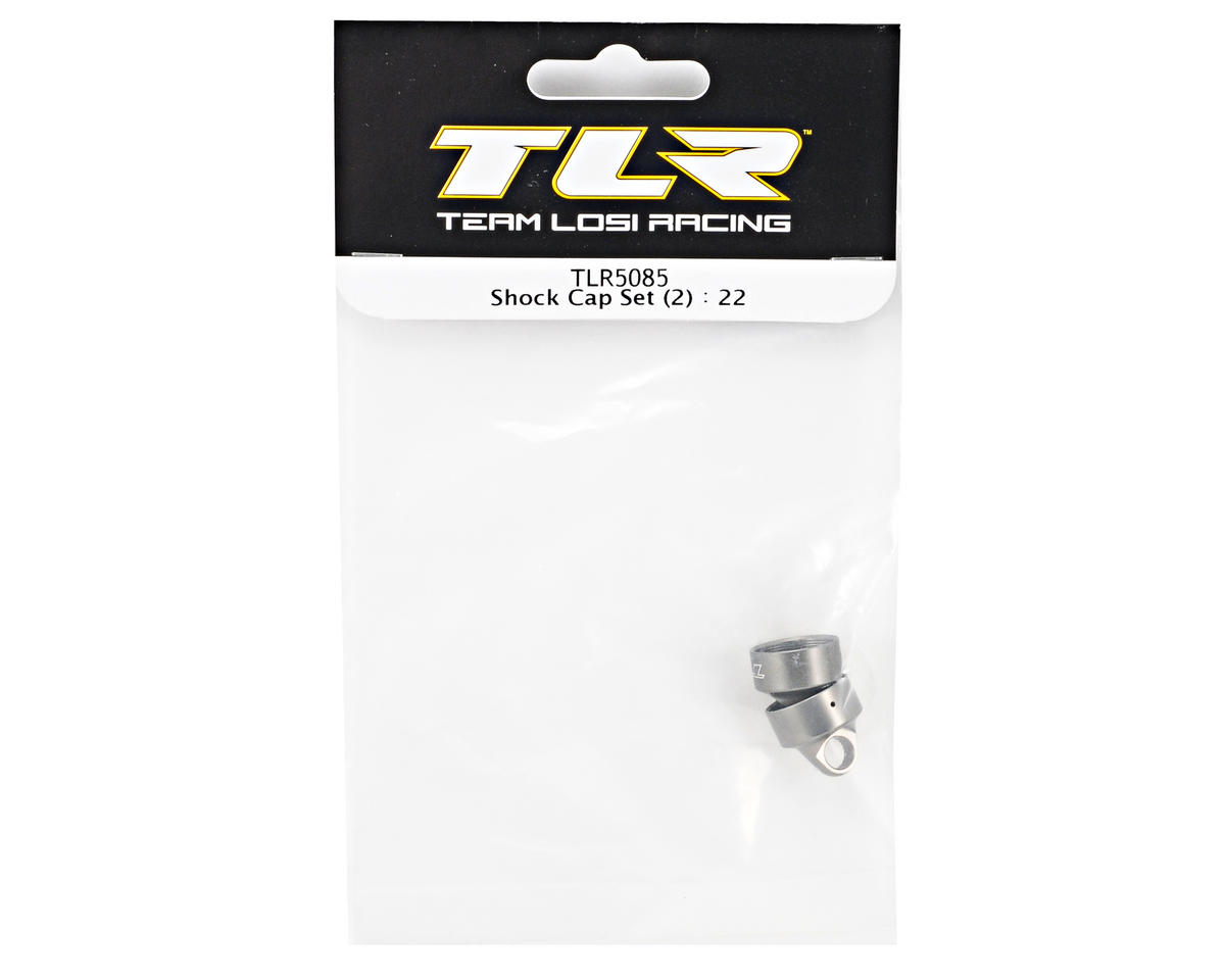 Team Losi Racing Shock Cap Set (2) (TLR 22)