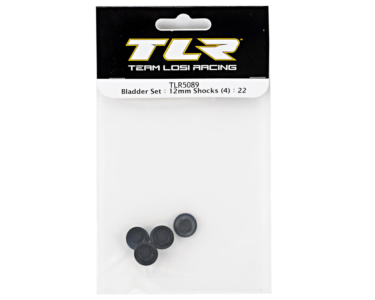 Team Losi Racing 12mm Shock Bladder Set (4) (TLR 22)