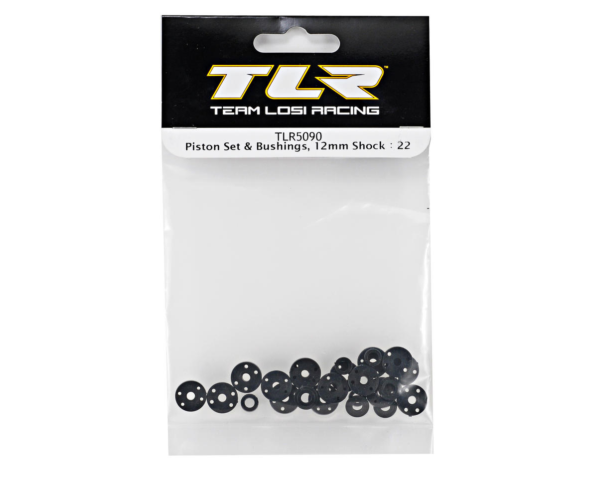 Team Losi Racing 12mm Piston & Bushings Set (TLR 22)
