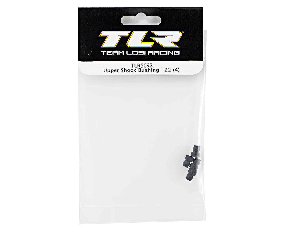 Team Losi Racing Upper Shock Bushing Set (4) (TLR 22)