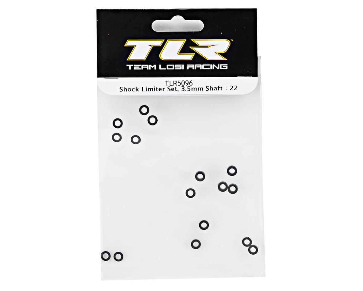 Team Losi Racing 3.5mm Shock Shaft Limiter Set (TLR 22)