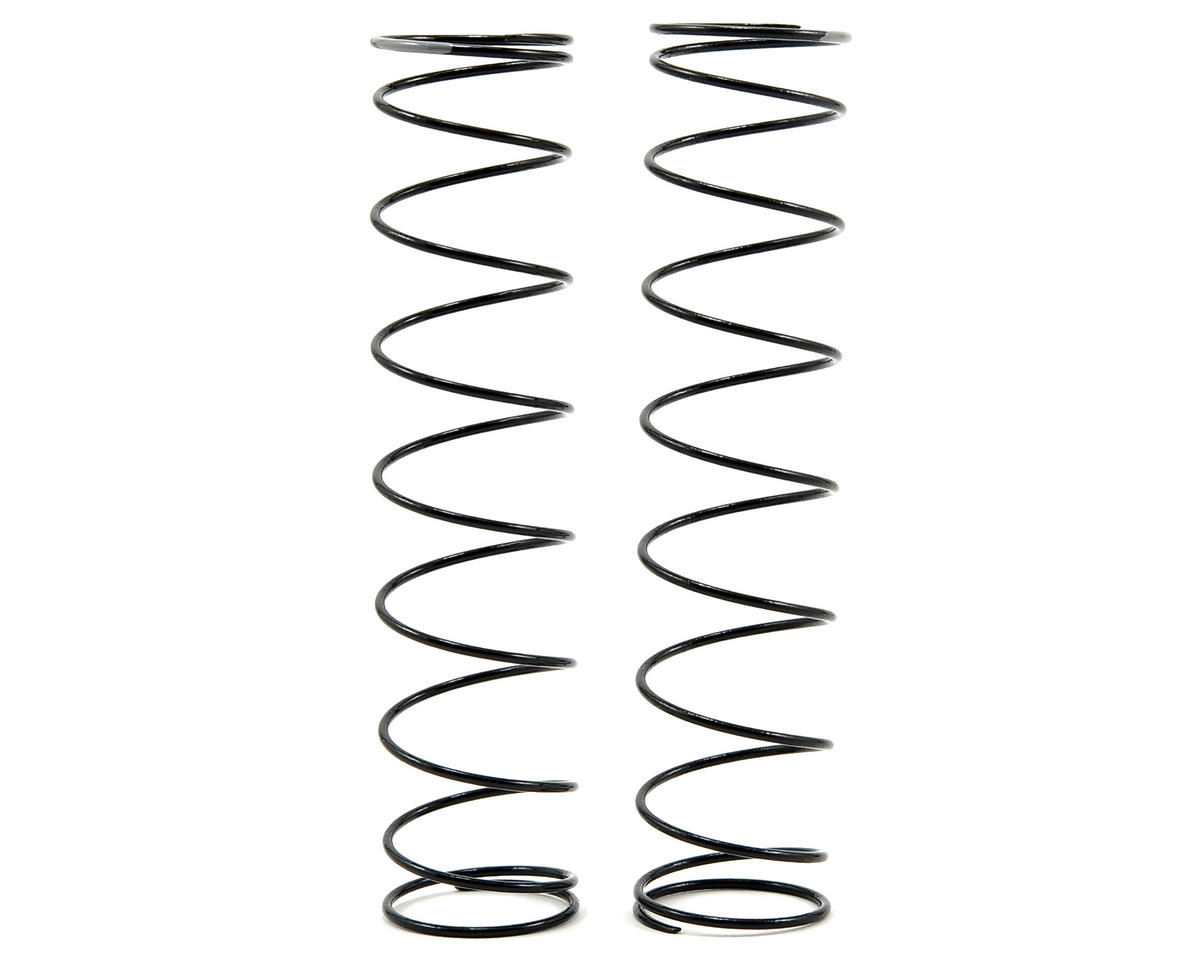 Team Losi Racing Rear Shock Spring Set (Grey - 1.6 Rate) (2)