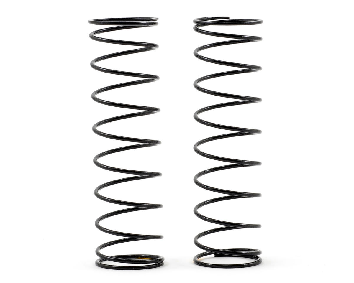 Rear Shock Spring Set (2.0 Rate/Yellow) (TLR 22) by Team Losi Racing