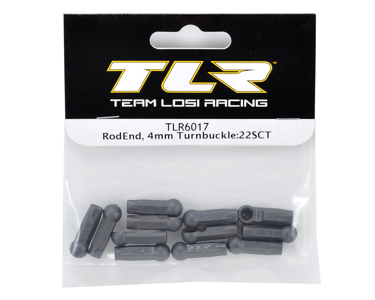 Team Losi Racing 4mm Turnbuckle Rod End (12)