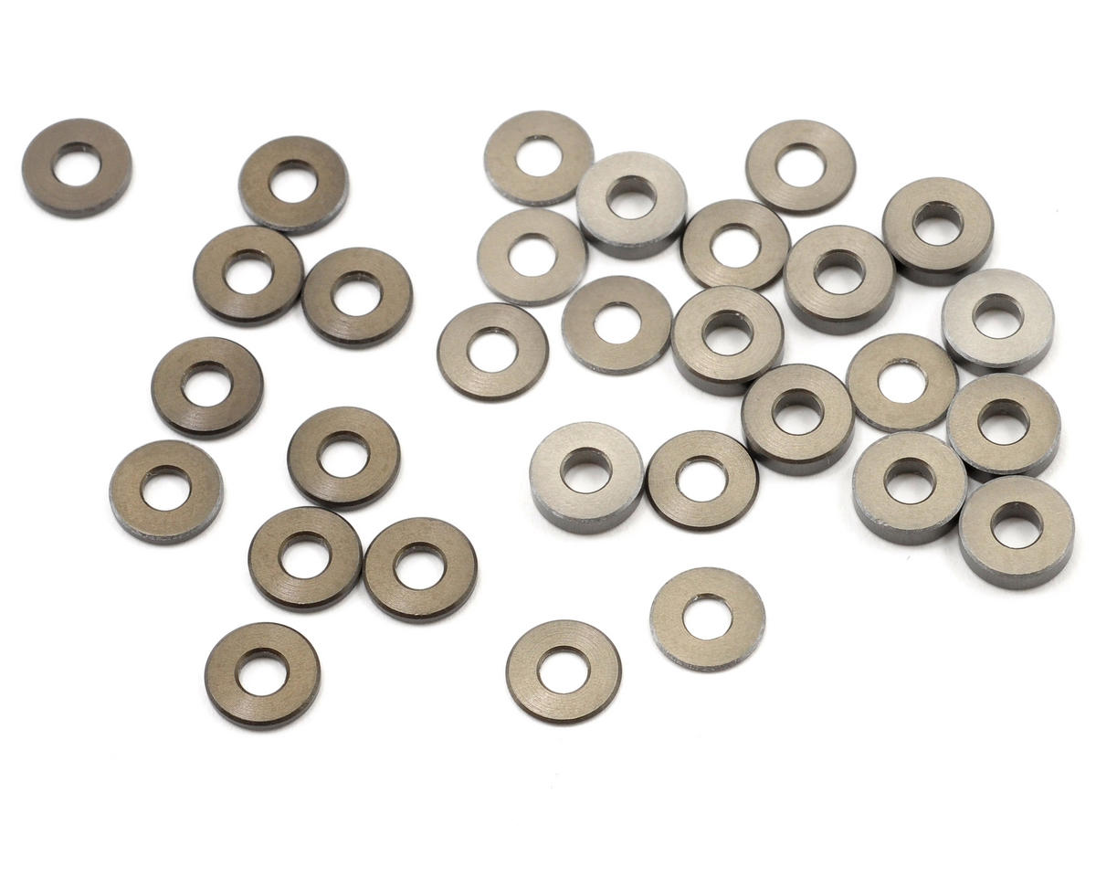 Aluminum Ball Stud & Hub Spacer Set (TLR 22) by Team Losi 8IGHT-E RTR Racing