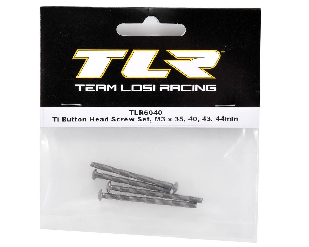 Team Losi Racing Titanium Button Heat Screw Set